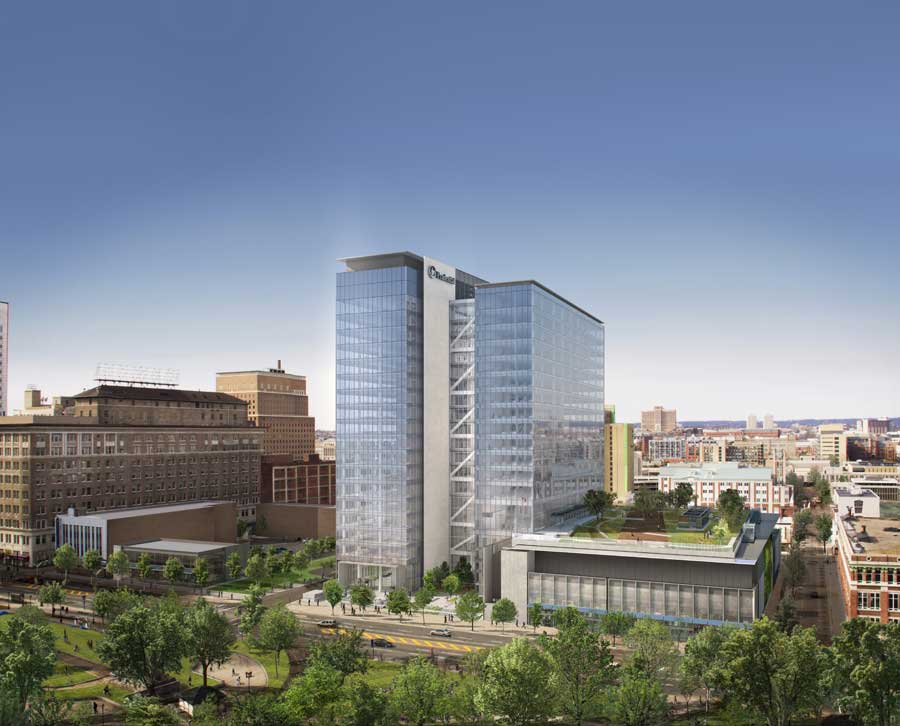 Prudential Tower Parking Garage Featured Projects Trilogix